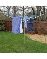 40M/50M/60M Rotary Aluminium Robust Adjustable Washing Line Airer/Dryer